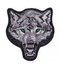 Patch Angry wolf
