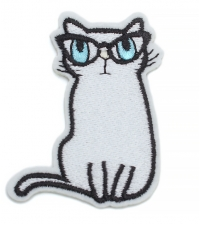 Antsiuvas Cat with glasses