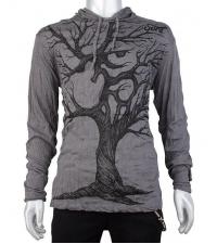 Grey hoodie Tree
