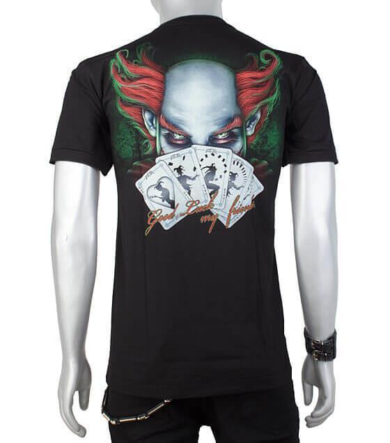 Buy Glow In The Dark Tshirt Magician Clown In Frankenshop