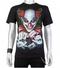 Glow in the dark Tshirt Magician clown