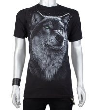 Glow in the dark Tshirt Wolf