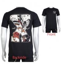 T-shirt Eagle straight edge