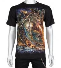 Marškinėliai su drakonu