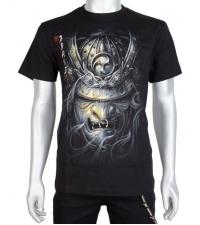 Marškinėliai šviečiantys tamsoje Samurai
