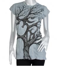 Women's t-shirt  OM gray