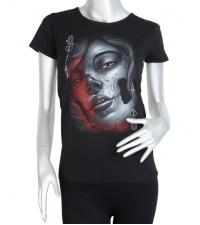 Women t-shirt Muerte