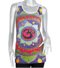Women's tank top OM colorful