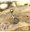 Mandala Curved barbell