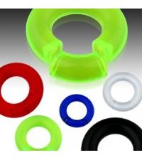 Segment black ring  round hanger