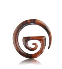 Wooden hanger expander Curl six