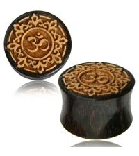 Wooden plug OM