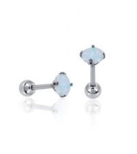 Earring Opal Thickness 1.2mm Length 7mm
