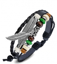Bracelet bongo Feathers
