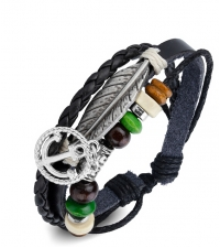 Bracelet bongo Feather anchor