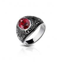 Žiedas Red stone