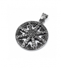 Pendant Wheels of Dharma