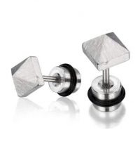 Earring Pyramid Thickness 1.2mm Length 7mm