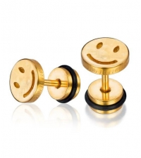 Earring Smile Thickness 1.2mm Length 7mm
