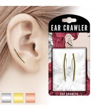 Ilgi auskarai palei ausį